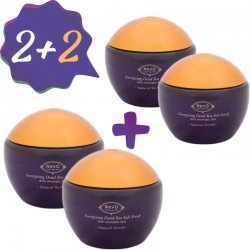2+2 Dead Sea Salt Scrub Natural Secrets 840 g