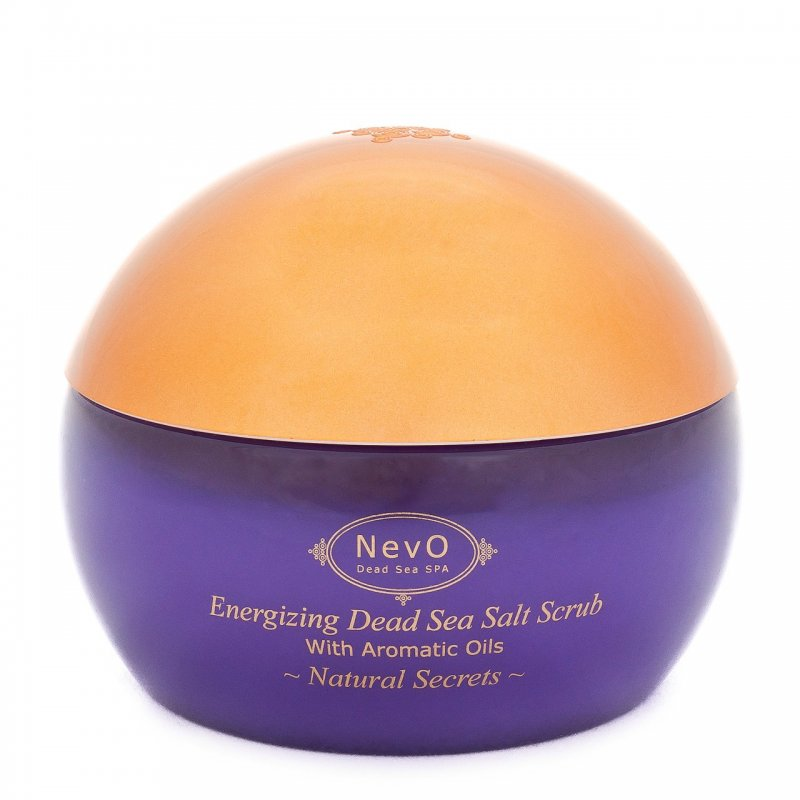 Dead Sea Salt Scrub Natural Secrets 420 g - NevO Dead Sea SPA