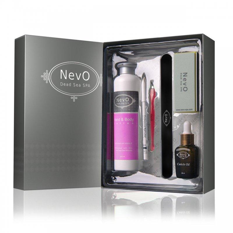 Deluxe Nail Care Kit French Vanilla - NevO Dead Sea SPA